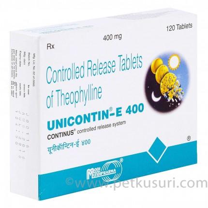 ユニコンチンE400mg120錠