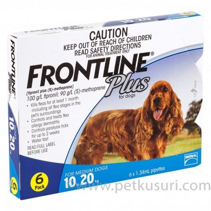 フロントラインプラス中型犬用6本