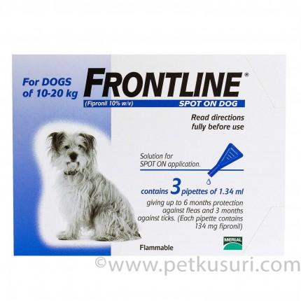 フロントラインスポットオン中型犬用