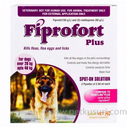 フィプロフォートプラス大型犬用6本
