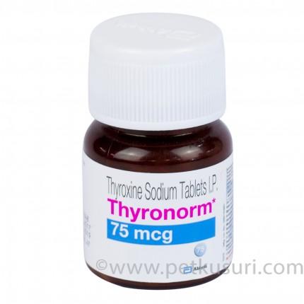 チロノーム(チロキシンナトリウム)75mcg120錠