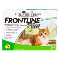 <アウトレット品・30%OFF ! >フロントラインプラス猫用6本