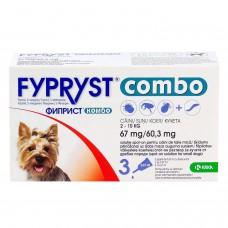 フィプリストコンボ小型犬用3本