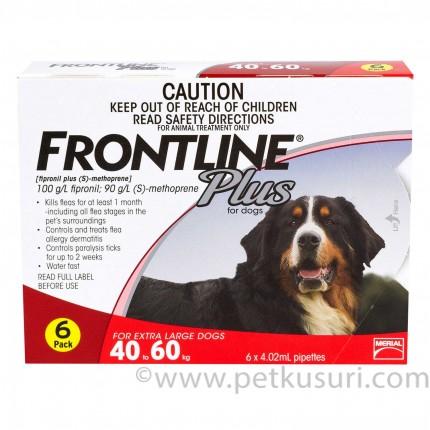 <アウトレット品・25%OFF ! >フロントラインプラス超大型犬用6本