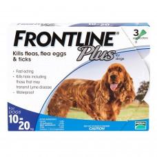 フロントラインプラス中型犬用3本