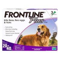<アウトレット品・30%OFF ! >フロントラインプラス大型犬用3本