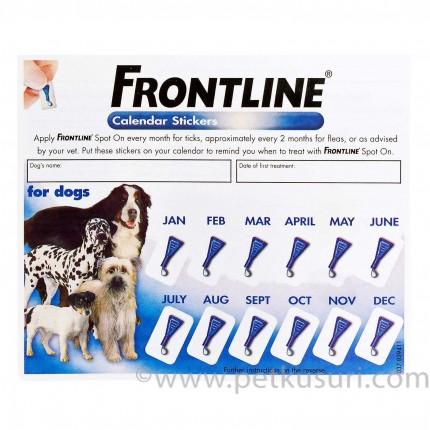 フロントラインスポットオン小型犬用