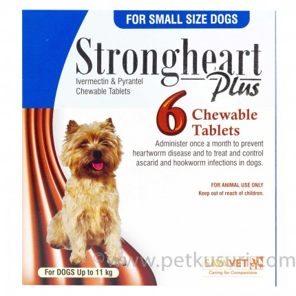 ストロングハートプラス・チュアブル小型犬用