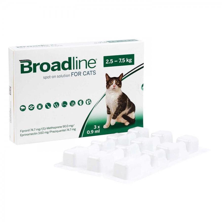 ブロードラインスポットオン猫用2.5〜7.5kg