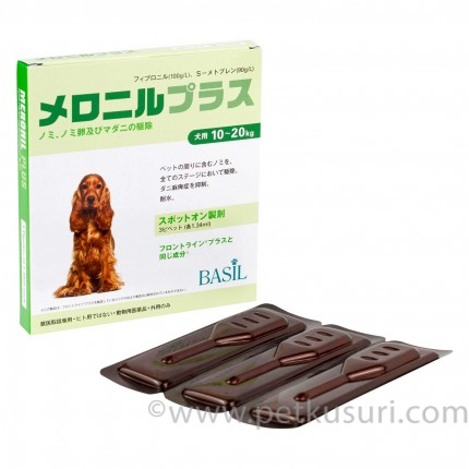 メロニルプラス中型犬用3本