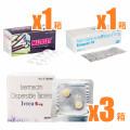 コロナ早期自宅療養プロトコル(イベルメクチン6mg60錠/ メラトニン3mg/ アスピリン75mg)