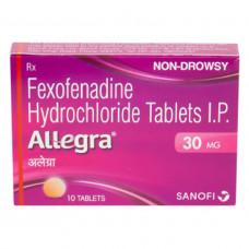 アレグラ30mg(アレグラFXジュニア・小児用)10錠