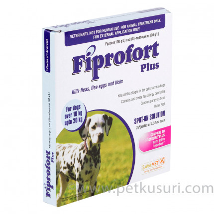 フィプロフォートプラス中型犬用6本