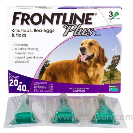 フロントラインプラス大型犬用3本