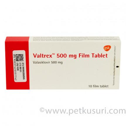 バルトレックス500mg10錠