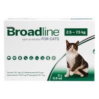 ブロードラインスポットオン猫用2.5~7.5kg