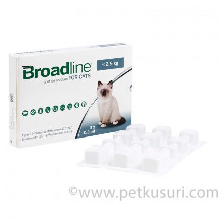 ブロードラインスポットオン猫用2.5kg未満