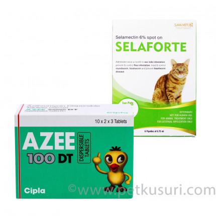 セラフォーテ猫用とアジー100mg
