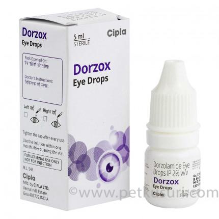 ドルゾックス点眼薬(緑内障治療)
