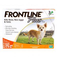 フロントラインプラス小型犬用3本