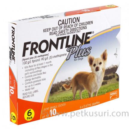 フロントラインプラス小型犬用6本