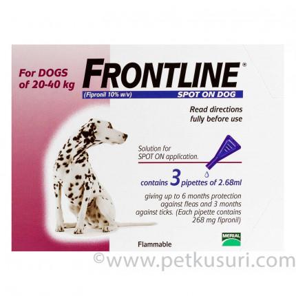 フロントラインスポットオン大型犬用