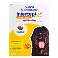 インターセプターチュアブル中型犬用