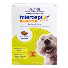 インターセプターチュアブル小型犬用