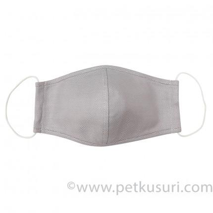 呼吸快適!洗える立体マスク(男性用グレーベージュ)