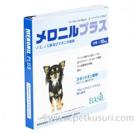 メロニルプラス小型犬用3本