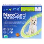 ネクスガードスペクトラ中型犬用7.5~15kg未満
