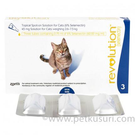 レボリューション猫用とトロイイヤードロップス