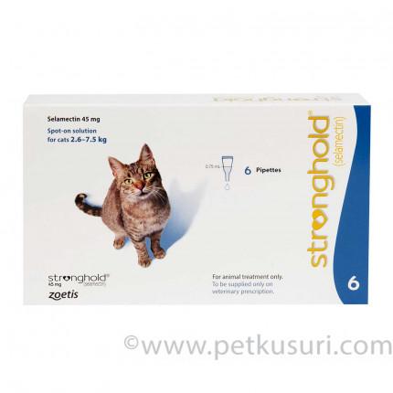 ストロングホールド猫用とテラマイシン