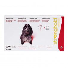 ストロングホールド中型犬用6本(レボリューション欧州版)