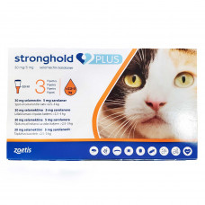 ストロングホールドプラス猫用(2.5~5kg未満)3本