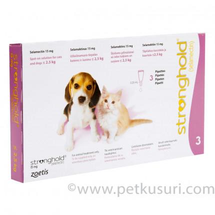 ストロングホールド子犬子猫用6本(レボリューション欧州版)