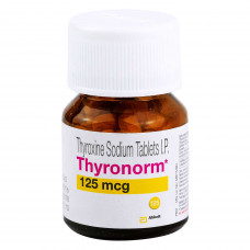 チロノーム(チロキシンナトリウム)125mcg100錠