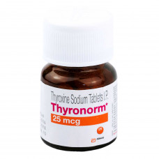 チロノーム(チロキシンナトリウム)25mcg100錠