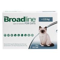 <アウトレット品・30%OFF ! >ブロードラインスポットオン猫用2.5kg未満