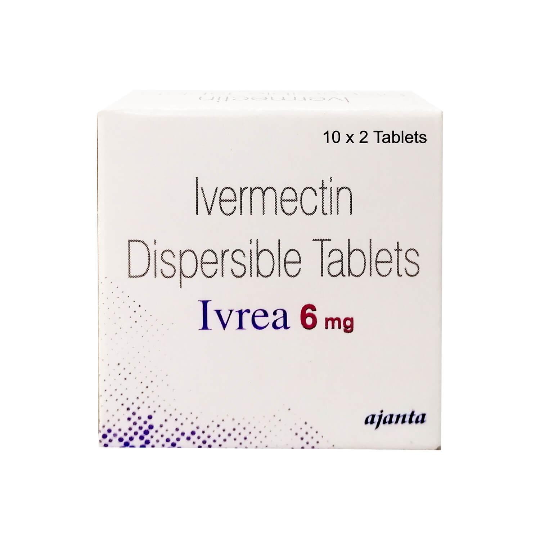抗寄生虫薬・コロナ治療薬候補 イベルメクチン6mg20錠(ストロメクトールジェネリック)
