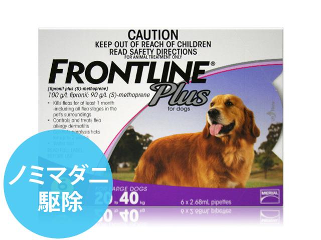 フロントラインプラス大型犬用6本